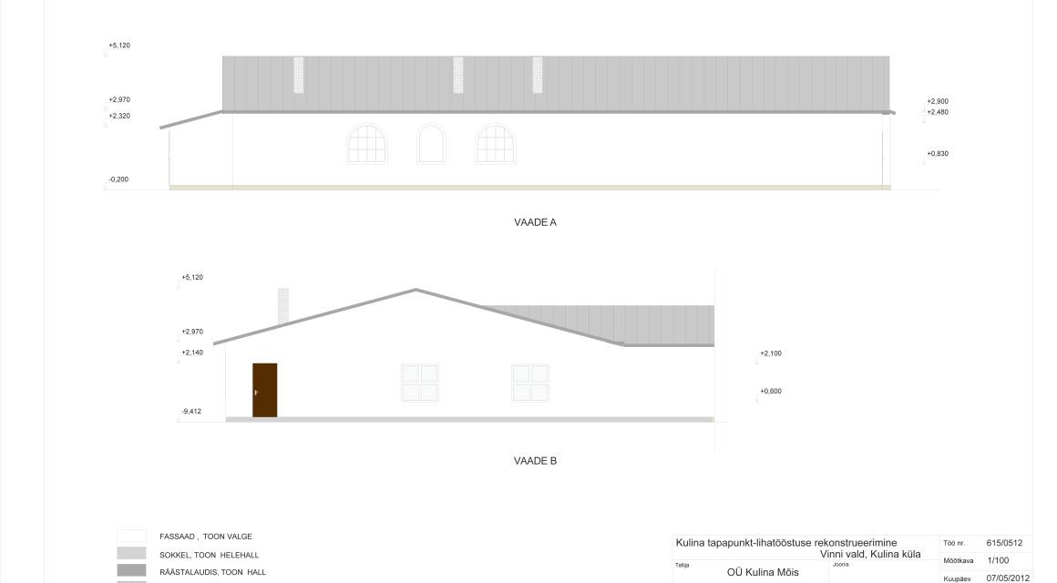Kulina tapapunkti rekonstrueerimise eelprojekt Vinni vallas